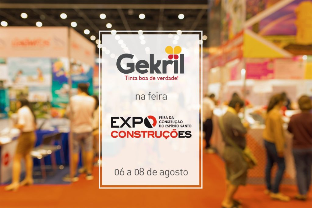 Gekril na Expoconstruções 2019