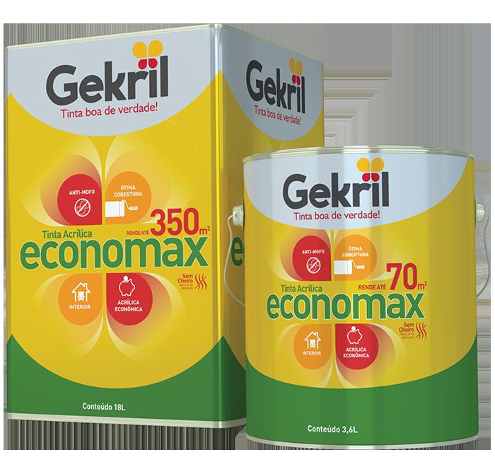 Tinta Acrílica Gekril Economax